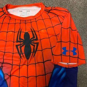 Under Armour Men's Spider-Man Compression Shirt